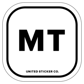 Badge_Lettering_Places_Montana [ MT ]_Vinyl_Sticker