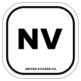 Badge_Lettering_Places_Nevada [ NV ]_Vinyl_Sticker