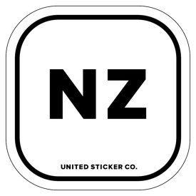 Badge_Lettering_Places_New Zealand [ NZ ]_Vinyl_Sticker