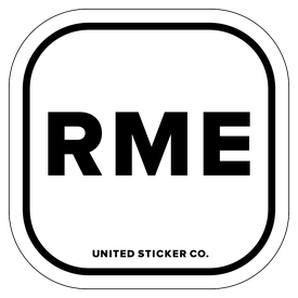 Badge_Lettering_Places_Rome [ RME ]_Vinyl_Sticker