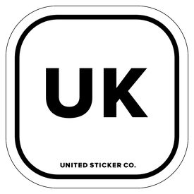 Badge_Lettering_Places_United Kingdom [ UK ]_Vinyl_Sticker