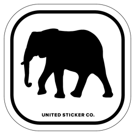 Badge_Icon_Animals_Elephant_Vinyl_Sticker