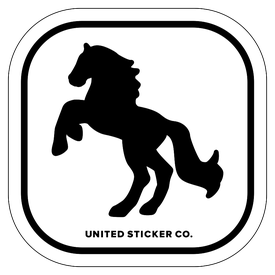 Badge_Icon_Animals_Horse_Vinyl_Sticker
