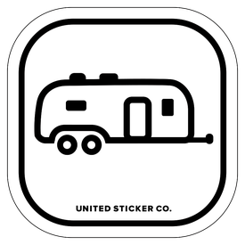 Badge_Icon_Sports & Recreation_Airstream Camper_Vinyl_Sticker