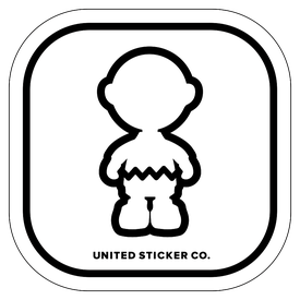 Badge_Icon_Art & Music_Charley_Vinyl_Sticker