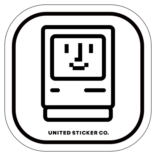Badge_Icon_Toys & Tech_Mac iie  Computer_Vinyl_Sticker