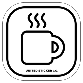 Badge_Icon_Food & Drink_Coffee Mug_Vinyl_Sticker