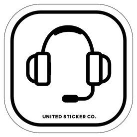 Badge_Icon_Toys & Tech_Gaming Headset_Vinyl_Sticker