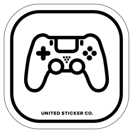 Badge_Icon_Toys & Tech_PS4 Controller_Vinyl_Sticker