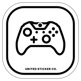 Badge_Icon_Toys & Tech_XBOX 360 Coltroller _Vinyl_Sticker