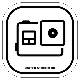 Badge_Icon_Sports & Recreation_GoPro Hero 5_Vinyl_Sticker
