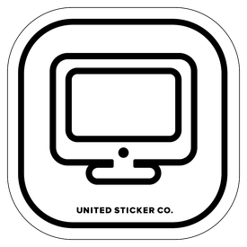 Badge_Icon_Toys & Tech_iMac  Computer_Vinyl_Sticker