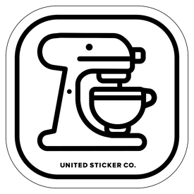 Badge_Icon_Food & Drink_Kitchen Aid_Vinyl_Sticker