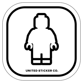 Badge_Icon_Toys & Tech_Lego Man_Vinyl_Sticker