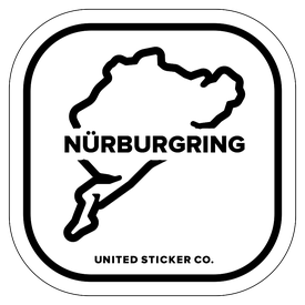 Badge_Icon_Sports & Recreation_Nürburgring_Vinyl_Sticker
