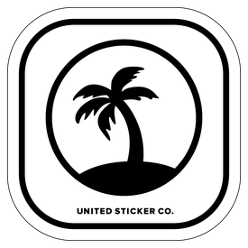Badge_Icon_Plants_Palm Tree_Vinyl_Sticker
