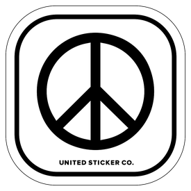 Badge_Icon_Emojis_Peace Sign_Vinyl_Sticker
