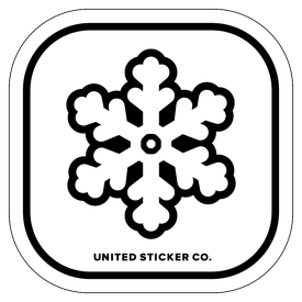 Badge_Icon_Plants & Nature_Snowflake_Vinyl_Sticker