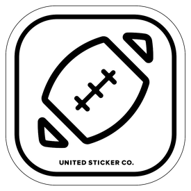 Badge_Icon_Sports & Recreation_Football Ball_Vinyl_Sticker