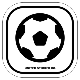 Badge_Icon_Sports & Recreation_Futbal Soccer Ball_Vinyl_Sticker