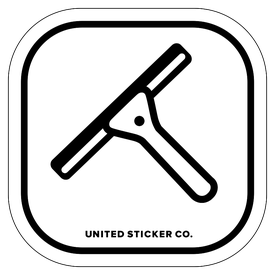 Badge_Icon_Professions_Squeegee_Vinyl_Sticker