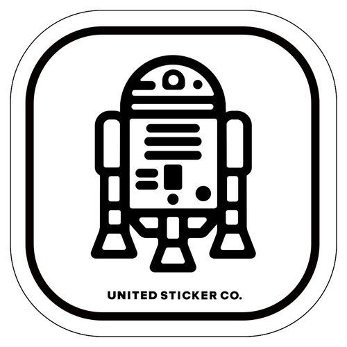 Badge_Icon_Toys & Tech_R2-D2_Vinyl_Sticker