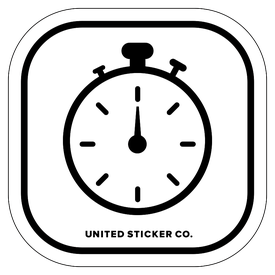 Badge_Icon_Sports & Recreation_Stop Watch_Vinyl_Sticker