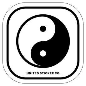 Badge_Icon_Emojis_Yin Yang_Vinyl_Sticker