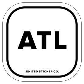 Badge_Lettering_Places_Atlanta [ ATL ]_Vinyl_Sticker