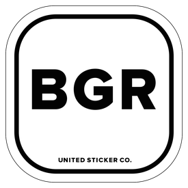 Badge_Lettering_Places_Bulgaria [ BGR ]_Vinyl_Sticker