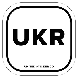 Badge_Lettering_Places_ Ukraine [ UKR ]_Vinyl_Sticker