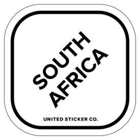 Badge_Lettering_Places_South Africa_Vinyl_Sticker