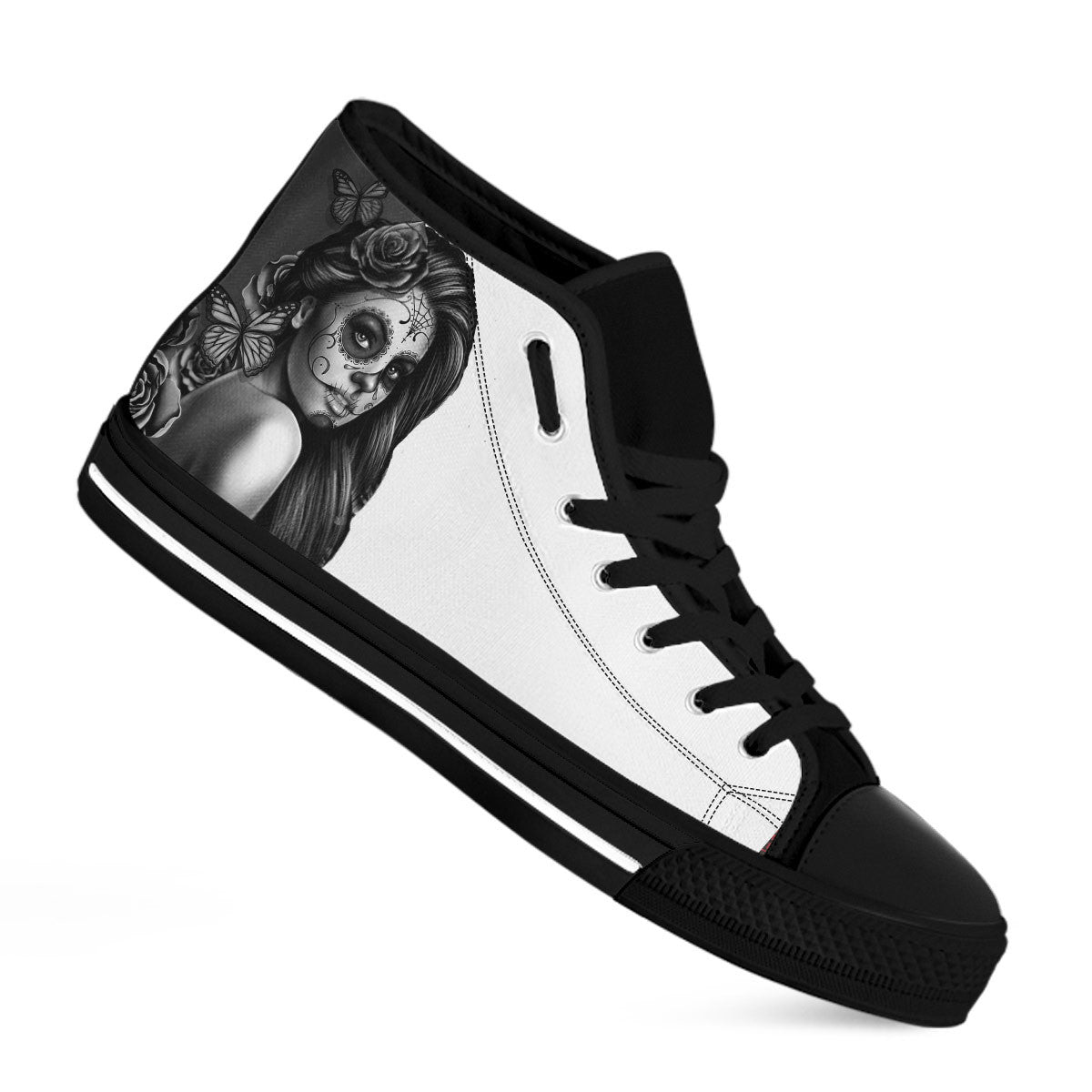 LADY C - Baskets montantes - Black & White 2