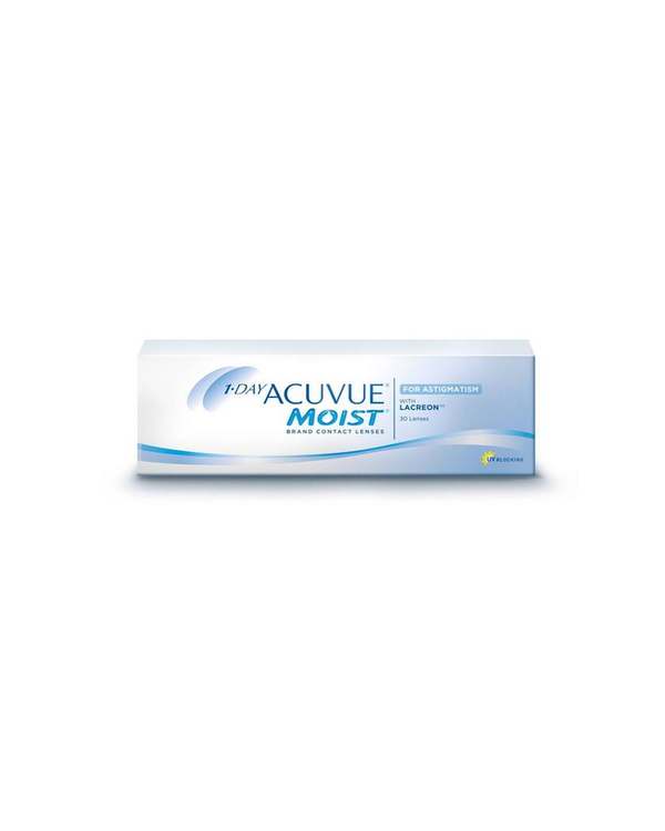 1-DAY ACUVUE® MOIST for ASTIGMATISM - Eleven Eleven Contact Lens and Vision Care Experts