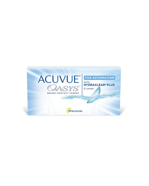 ACUVUE® OASYS BI-WEEKLY for ASTIGMATISM