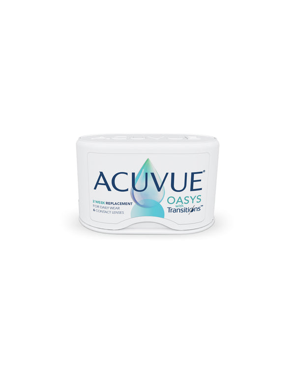 ACUVUE® OASYS WITH TRANSITIONS™ 2-WEEK