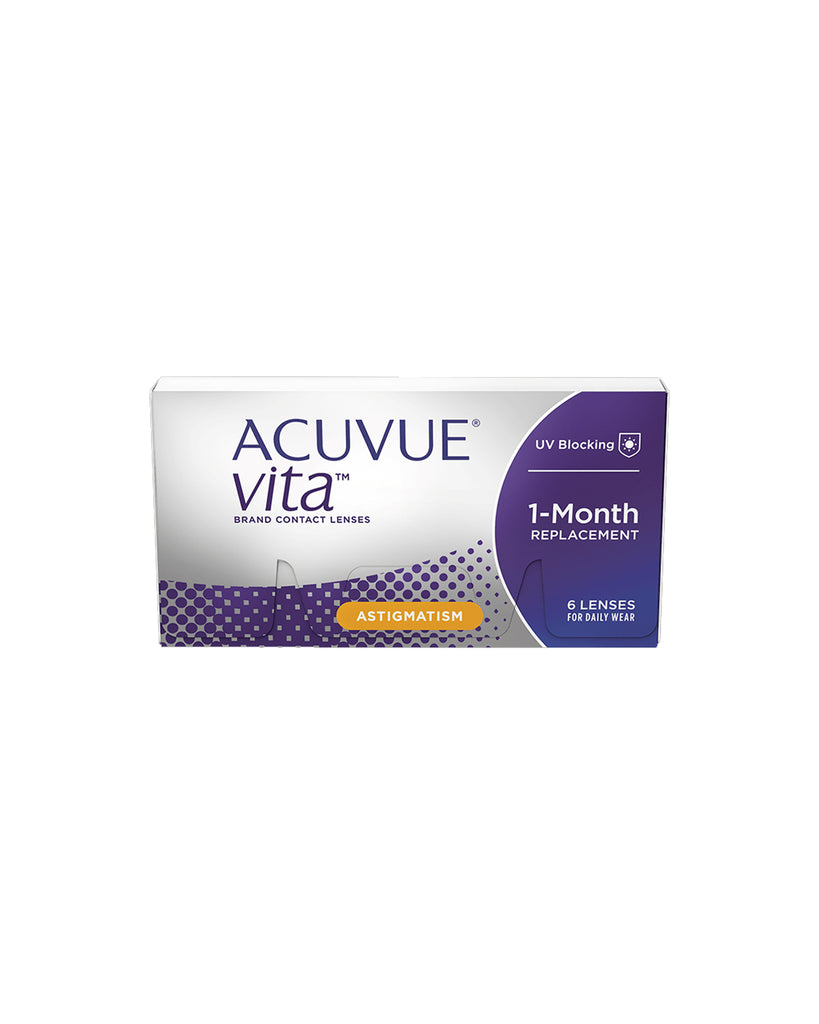 ACUVUE® VITA™ FOR ASTIGMATISM (MONTHLY) - Eleven Eleven Contact Lens and Vision Care Experts