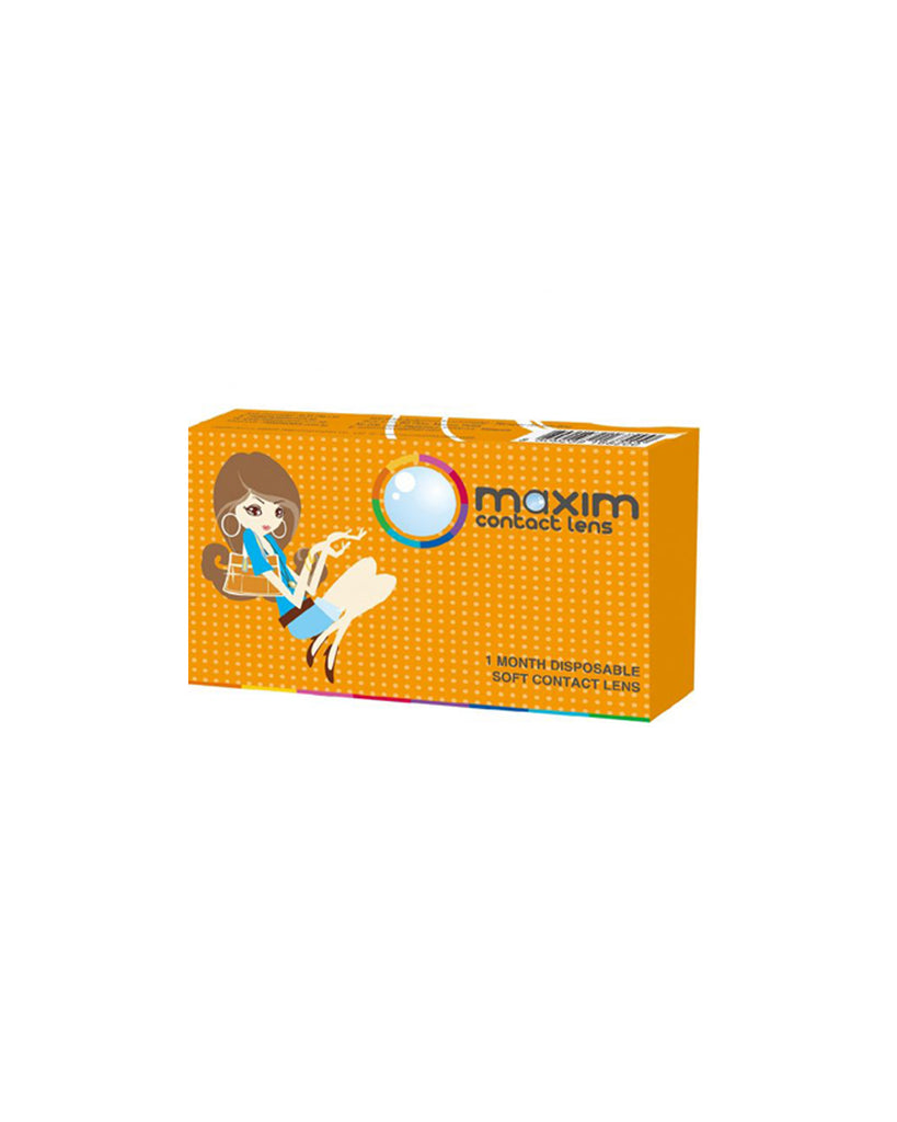 Maxim Bigger and Colour Eyes (Orange Box) x 4 boxes - Eleven Eleven Contact Lens and Vision Care Experts