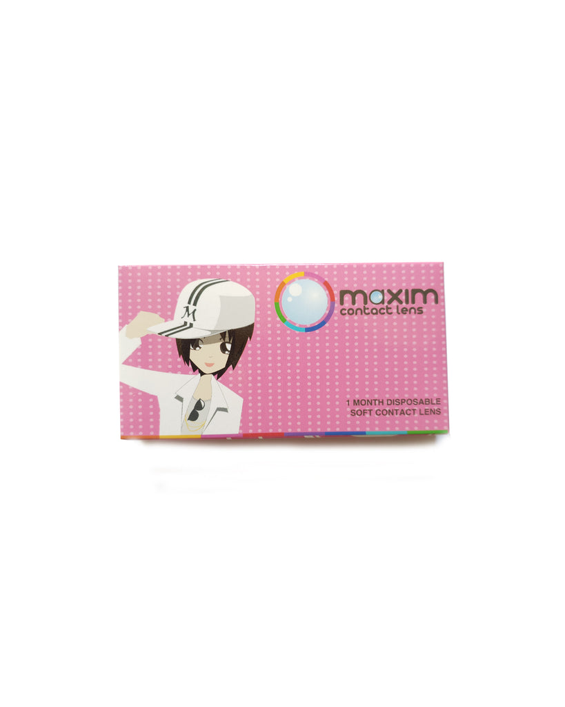 Maxim New Chic French Series (Pink Box) x 2 boxes - Eleven Eleven Contact Lens and Vision Care Experts