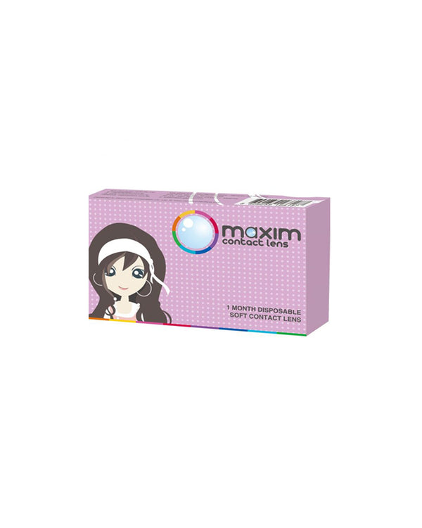 Maxim Big and Natural Eyes (Violet Box) x 4 boxes - Eleven Eleven Contact Lens and Vision Care Experts