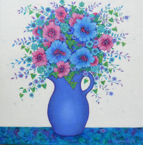 Blue Jug - Suzanne Smith - Macandmor