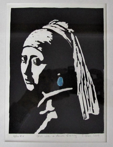 Girl with the Paua Earring - Macandmor