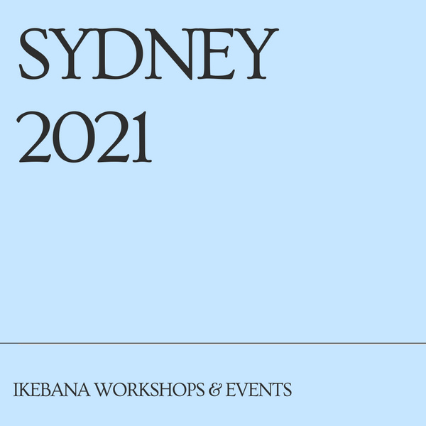 Sydney Ikebana Workshops & Events