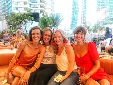 Behind the scenes at our girl's weekend in Broadbeach, Gold Coast
