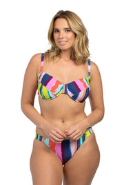 Rainbow Stripe Full Cup