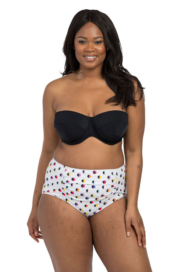 Spot Stone High Waisted Brief