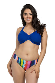 Royal Blue Underwire Halter