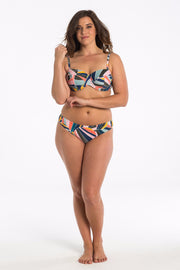 Sunset Shell Balconette Bikini Top