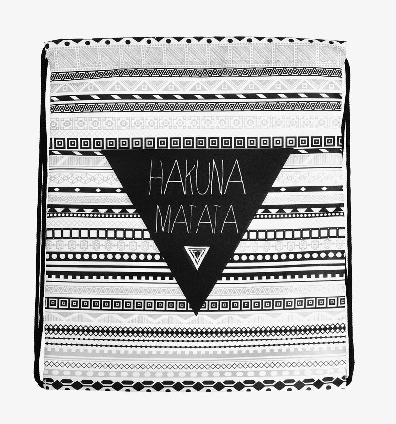 HAKUNA MATATA Drawstring Travel Bag