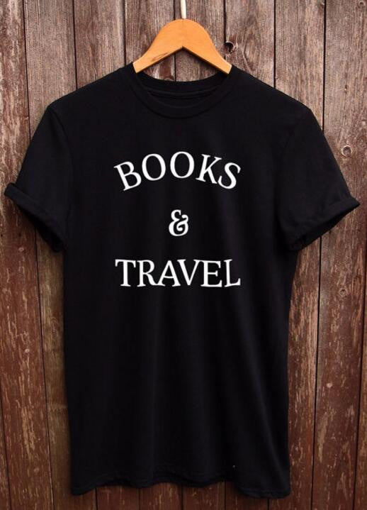 BOOKS AND TRAVEL Women's Tee
